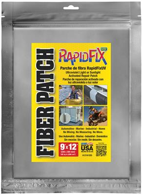 "RapidFix UV Fiber Patch 9""x12"""