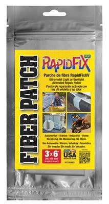 "RapidFix UV Fiber Patch 3""x6"""