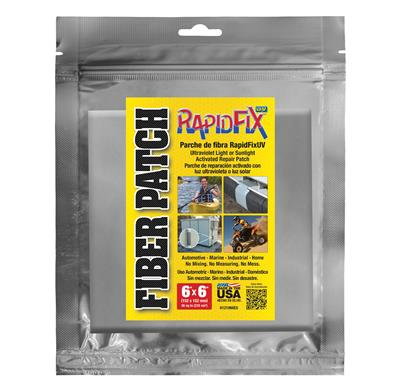 "RapidFix UV Fiber Patch 6""x6"""